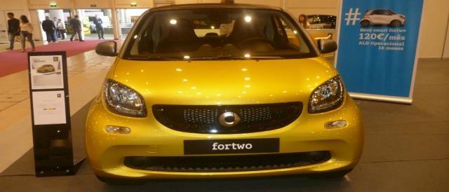 O Smart Fortwo, pioneiro dos carros urbanos
