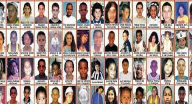 Fotos de pessoas desaparecidas