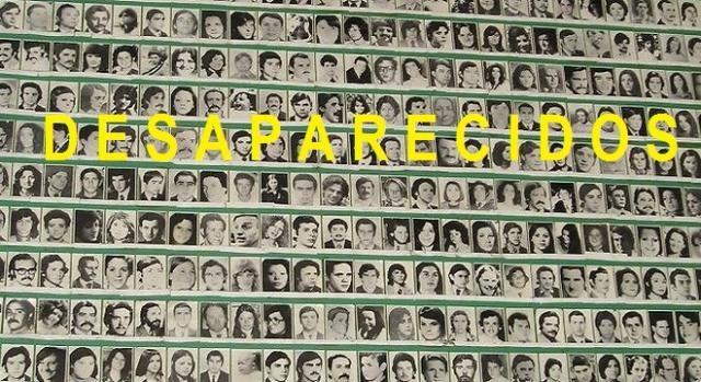 Mural de pessoas desaparecidas