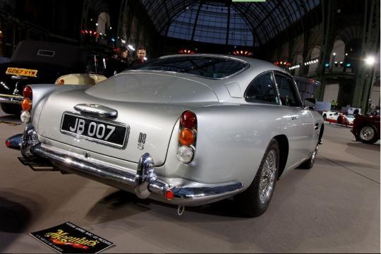 Aston Martin DB5, parte trasera