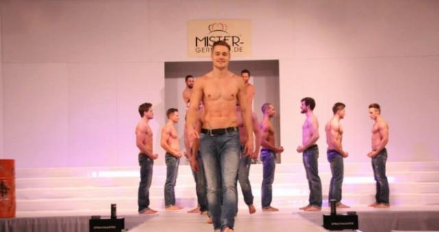 Chris als Bewerber bei Mister Germany