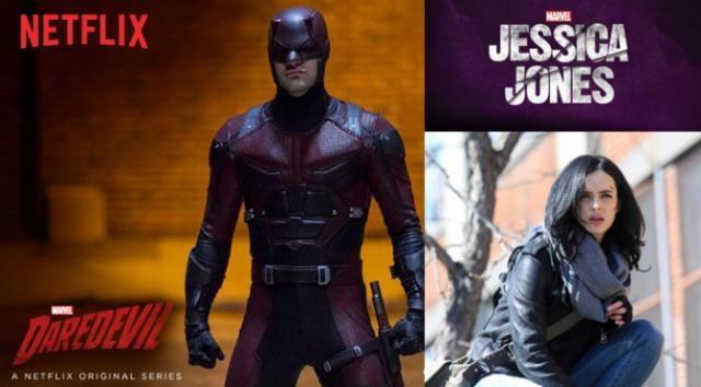 Daredevil y Jessica Jones serían los elegidos
