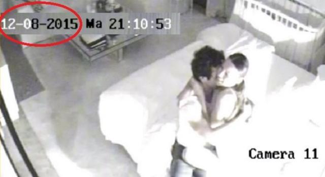 8 de diciembre: Pampita y Vicuña a los besos
