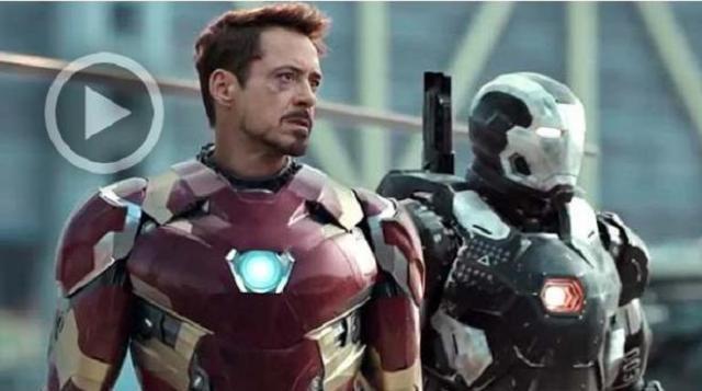 Iron-Man y War Machine se preparan para la batalla