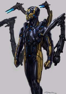 Segundo diseño del villano Yellow Jacket