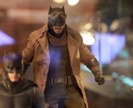 Nuevas imágenes oficiales sobre el traje de Batman