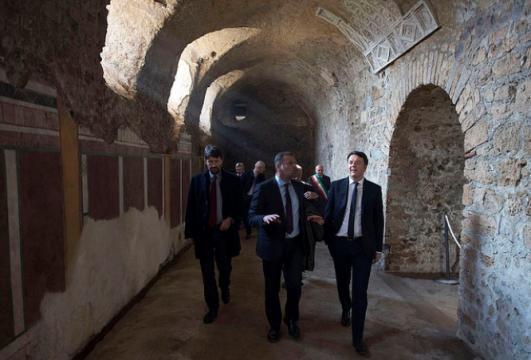 Renzi e Franceschini oggi a Pompei
