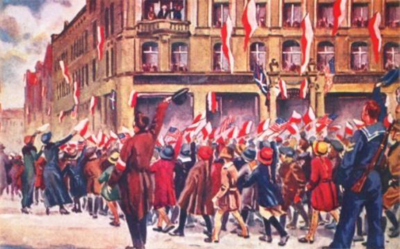 Mowa Paderewskiego z Hotelu Bazar (poznan.pl)