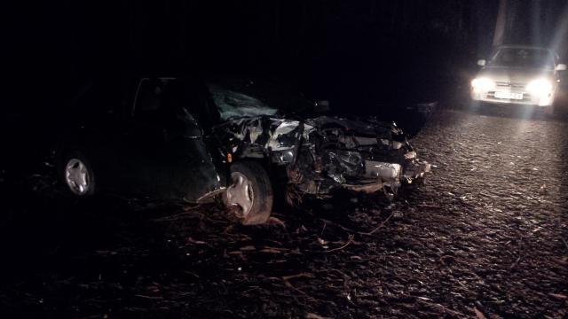 Do segundo acidente carro ficou destruído.