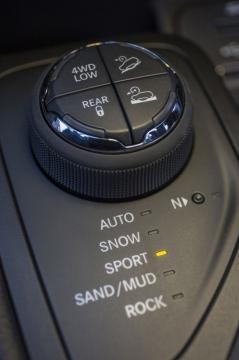 la nuova serie speciale di Jeep modalità guida