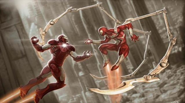 Confirman las 3 armaduras que utilizará Spider-Man