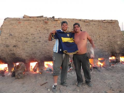 Alberto y Damián, obreros del optimismo