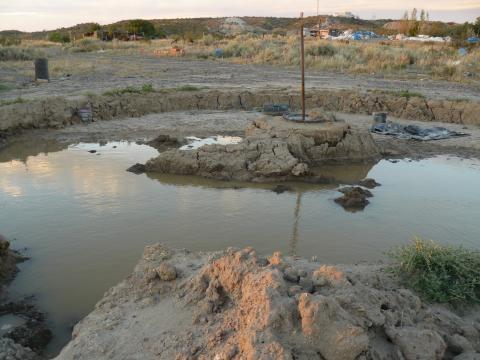 Poza donde se mezclan las 2 clases de tierra