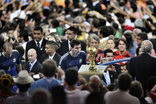 Desporto: Na Final do Mundial 2014