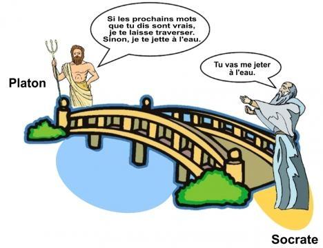 La vérité paradoxale selon Platon et Socrate.