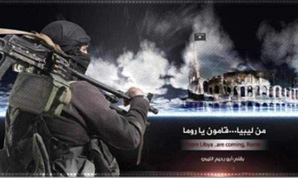 Immagine tratta dal twitter jihadista