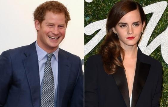 El romance del principe y la actriz Emma Watson
