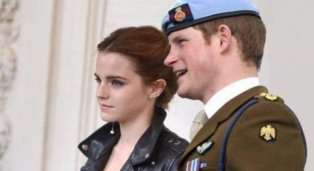 Emma Watson de novia con el príncipe Enrique