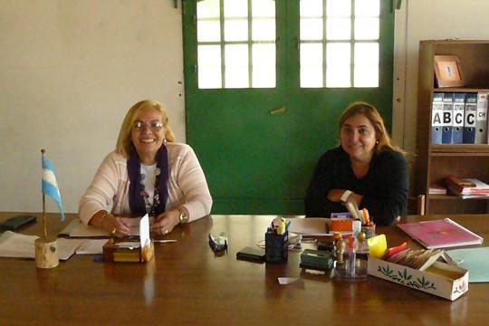 Susana (Consejera Zonal) y Fanny (Coord. Local)