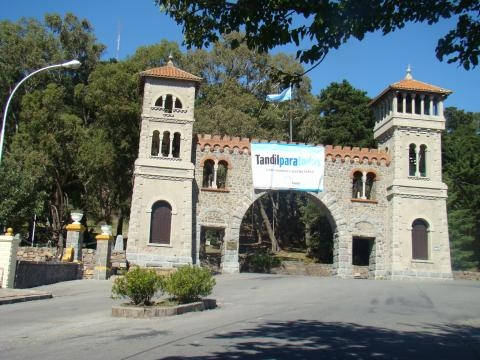 Torre de Tandil estilo gótico