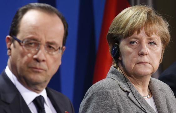 l'Union sacrée franco-allemande face à l'Ours.