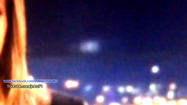 l'Ufo visto da più vicino.