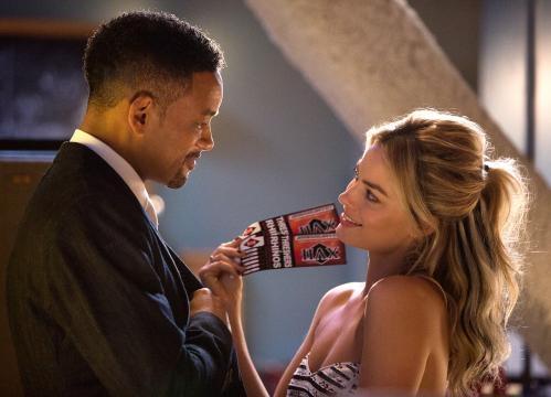 Margot Robbie contracena com Will Smith.