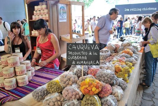 Productos del norte argentino, Feria Masticar