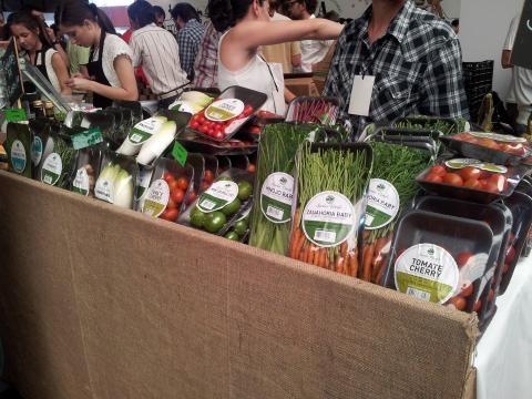 Vegetales frescos y a precios populares