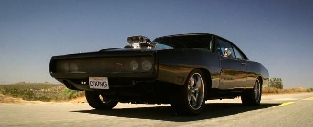 Dodge charger R/T, de Toretto.