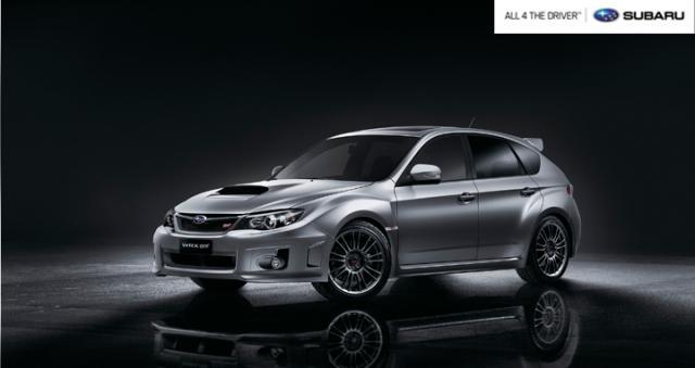 Subaru WRX STi Hatchback, de O'Conner.