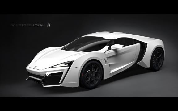 W Motors Lykan Hypersport, de Toretto.