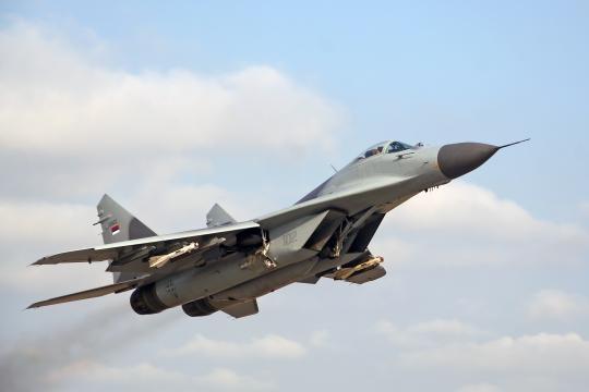 Força aérea iemenita também usa os MiG-29.