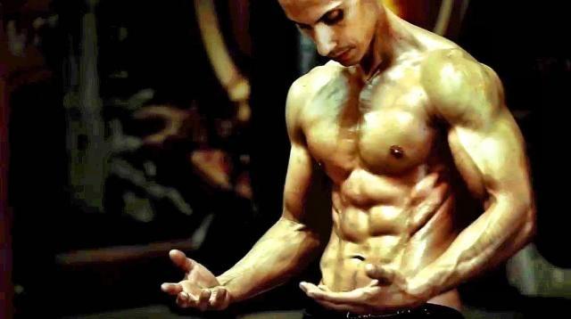 Frank Medrano, athlète et vegan