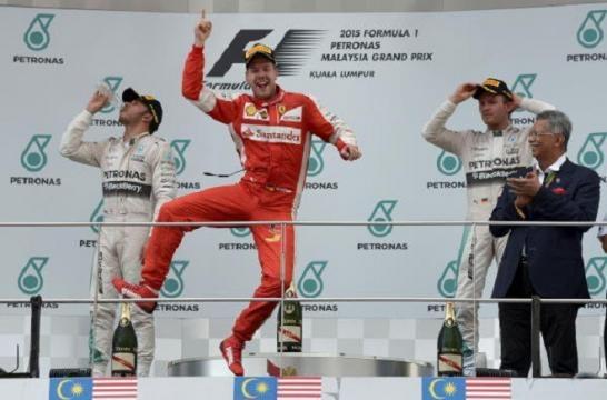 40e victoire en F1 pour Vettel ! 1