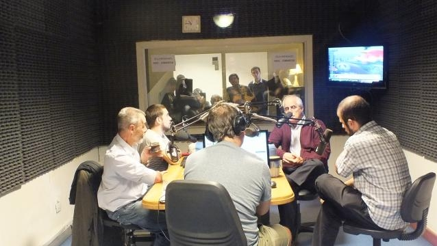 Taiana en Radio Nacional Córdoba