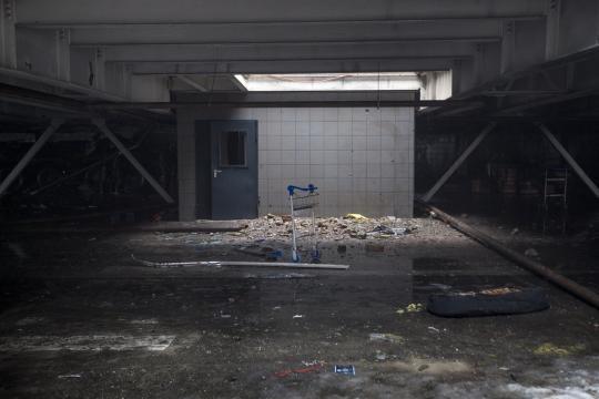 Interior do aeroporto, depois