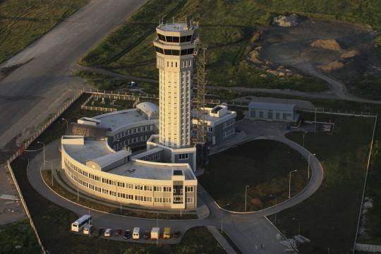 Torre de controlo aéreo, antes