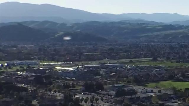 Avvistamento Ufo in California.