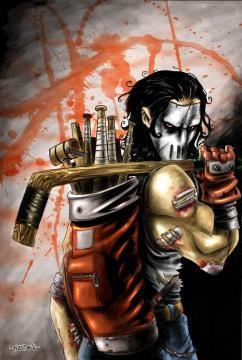 Le justicier Casey Jones, allié des Tortues Ninja.