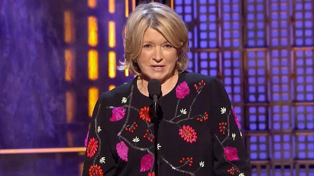 Martha Stewart se robó el show.