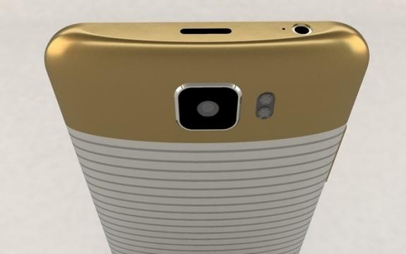 Dettaglio posteriore Galaxy S7 Concept b