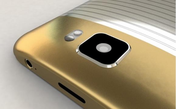 Dettaglio posteriore Galaxy S7 Concept