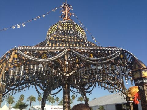 Art is a big part of Coachella.