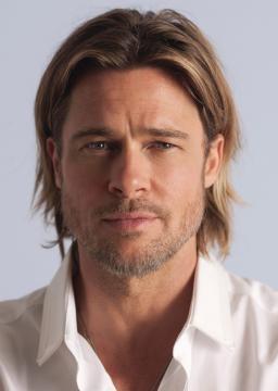 Fotografia do actor Brad Pitt