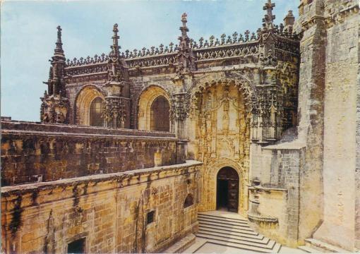 Convento de Cristo, entrada principal