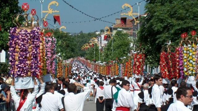Festa dos Tabuleiros em julho de 2015