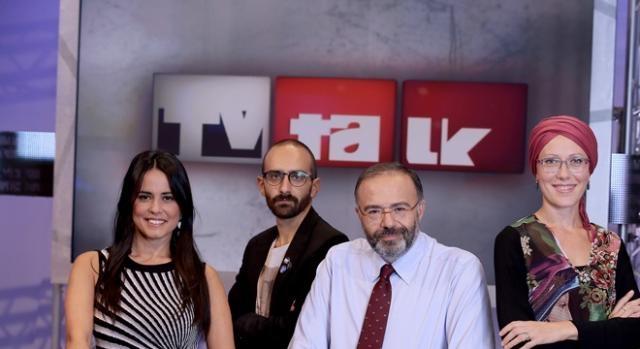 Locandina di Tv Talk condotto da Bernardini