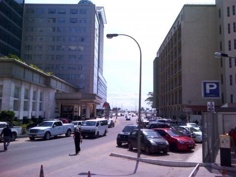Ruas da cidade de Luanda - 1