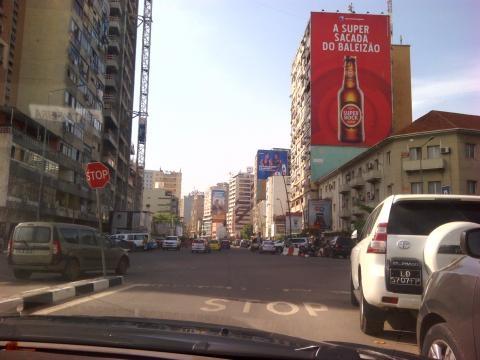 Ruas da cidade de Luanda - 3